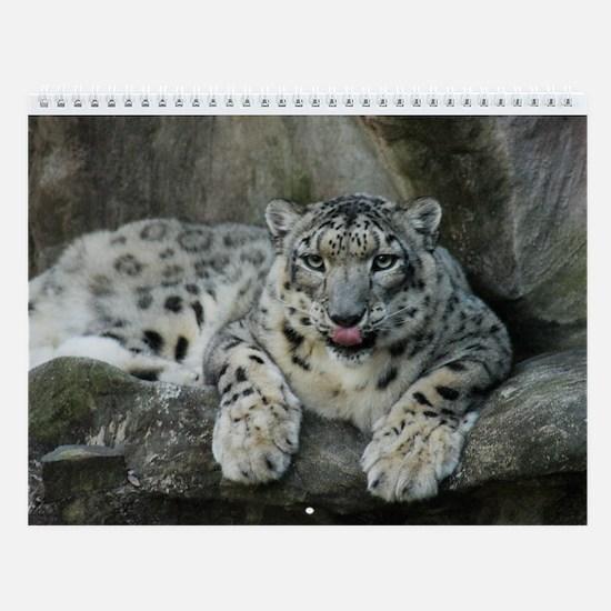 Snow Leopard Wall Calendar