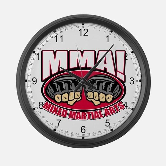 MMA Mixed Martial Arts Large Wall Clock