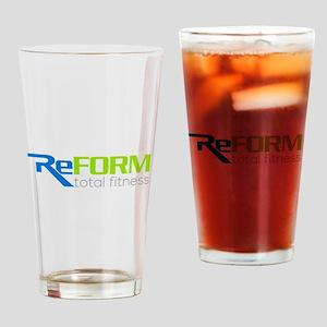 ReForm Logo Drinking Glass