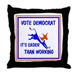 HERE COME THE FREE STUFF Throw Pillow