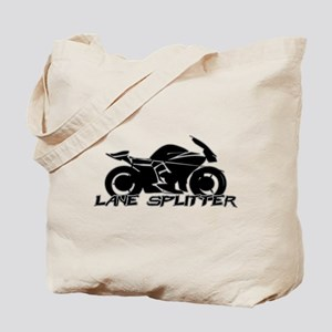 Lane Splitter Tote Bag