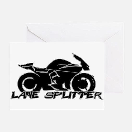 Lane Splitter Greeting Card