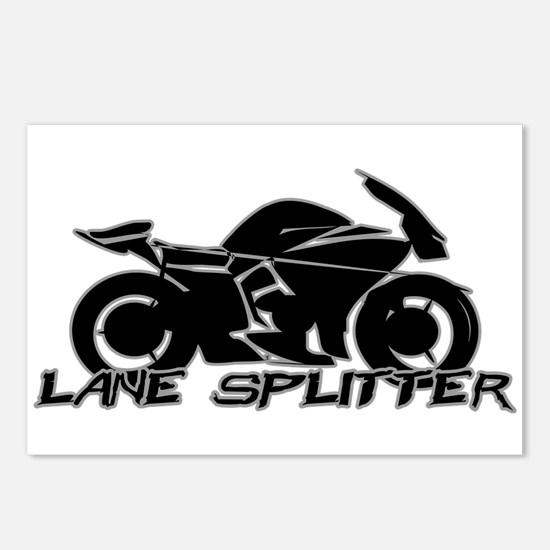 Lane Splitter Postcards (Package of 8)