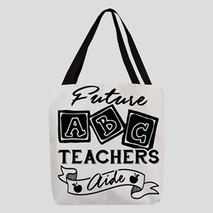 Teacher Aide Polyester Tote Bag