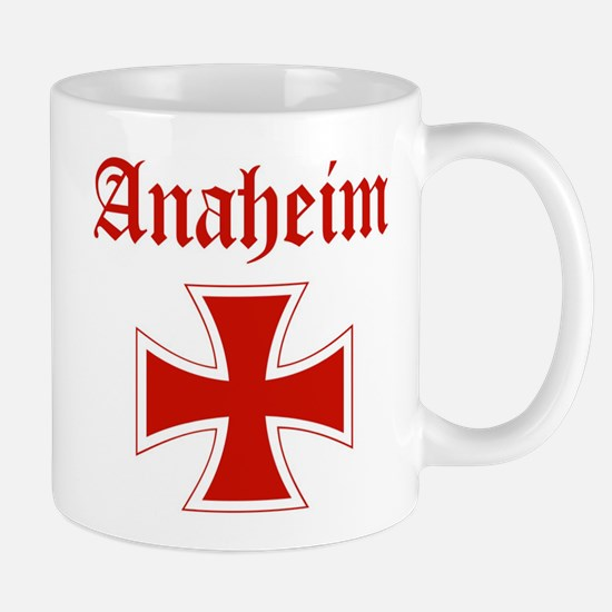 Anaheim (iron cross) Mug