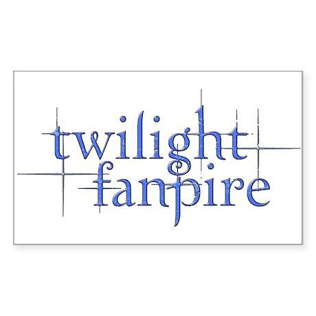 Twilight Time Rectangle Sticker