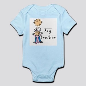 Big Brother With Little Sister Infant Bodysuit
