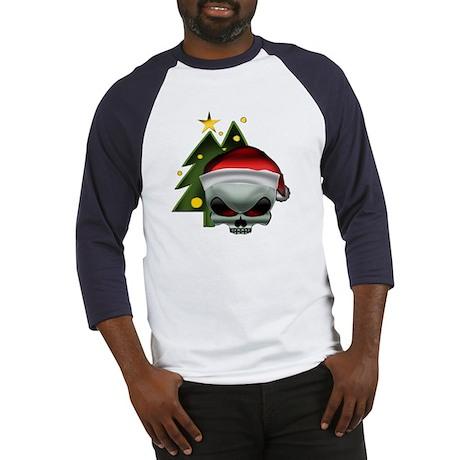 Christmas Skull Baseball Jersey