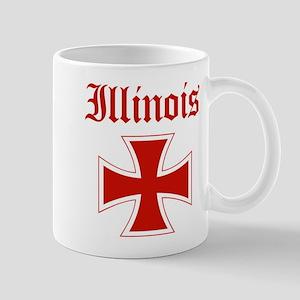 Illinois (iron cross) Mug