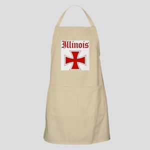 Illinois (iron cross) BBQ Apron