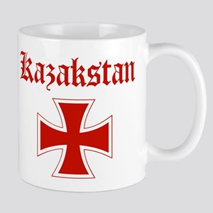 Kazakstan (iron cross) Mug