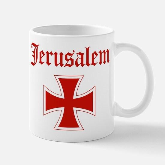 Jerusalem (iron cross) Mug