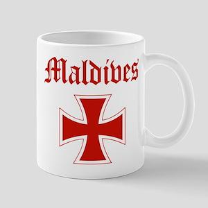 Maldives (iron cross) Mug