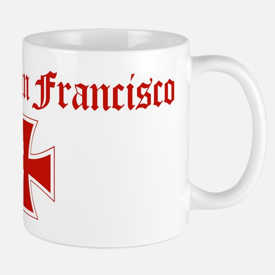 South San Francisco (iron cro Mug