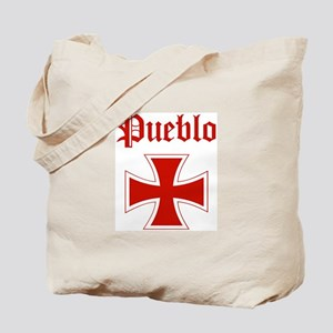 Pueblo (iron cross) Tote Bag