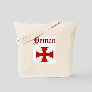 Yemen (iron cross) Tote Bag
