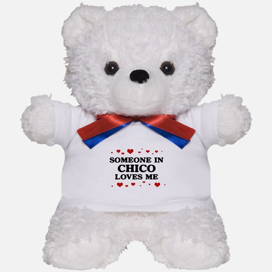 Loves Me in Chico Teddy Bear