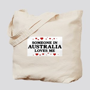 Loves Me in Australia Tote Bag