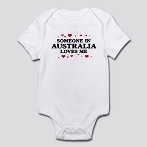 Loves Me in Australia Infant Bodysuit