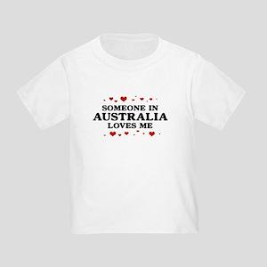 Loves Me in Australia Toddler T-Shirt