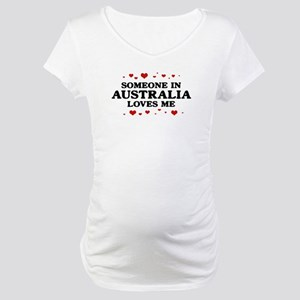 Loves Me in Australia Maternity T-Shirt