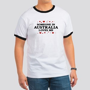 Loves Me in Australia Ringer T