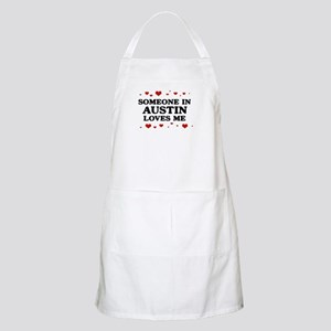 Loves Me in Austin BBQ Apron