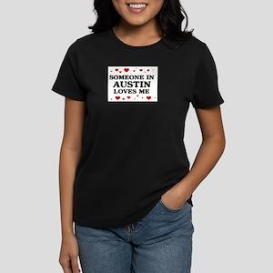 Loves Me in Austin Women's Dark T-Shirt