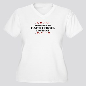 Loves Me in Cape Coral Women's Plus Size V-Neck T-
