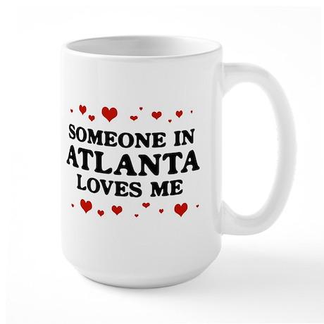 Loves Me in Atlanta Large Mug