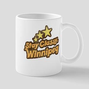 Stay Classy, Winnipeg Mug