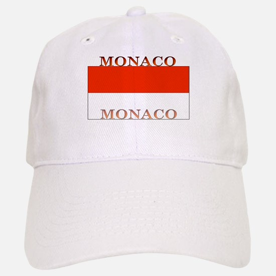 Monaco Monegasque Flag Baseball Baseball Cap