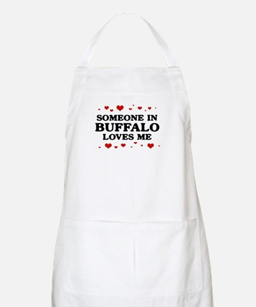 Loves Me in Buffalo BBQ Apron