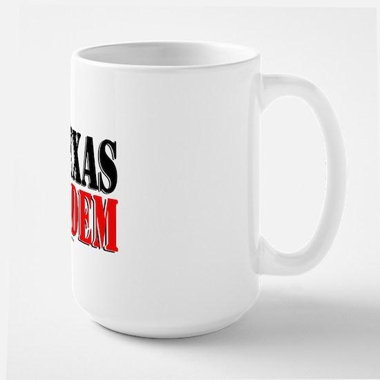 Texas Holdem Large Mug