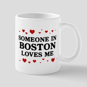 Loves Me in Boston Mug