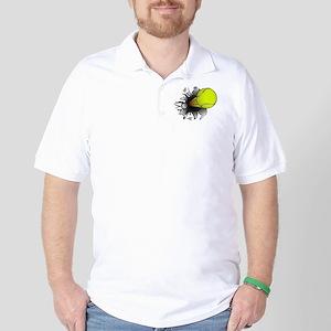 Shooting Tennis Ball Golf Shirt