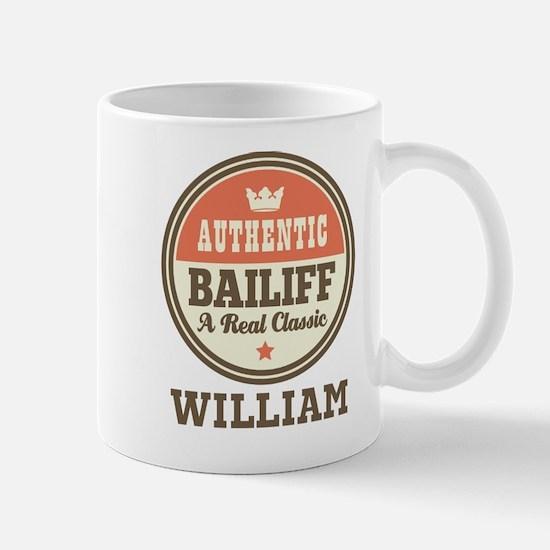 Personalized Bailiff Gift Mugs