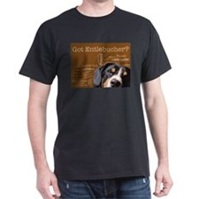 Got Entlebucher? Woof Cloud Brown T-Shirt