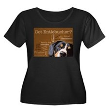 Got Entlebucher? Woof Cloud Brown Plus Size T-Shir