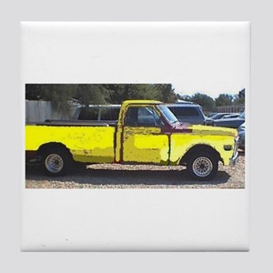 Old Truck by Honeytree Tile Coaster