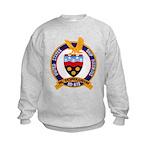 USS HAWKINS Kids Sweatshirt
