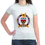 USS HAWKINS Jr. Ringer T-Shirt