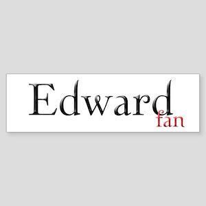 Twilight Edward Fan Bumper Sticker