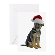 German Shepherd Xmas Greeting Card