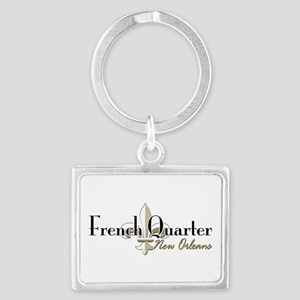 French Quarter NO Landscape Keychain