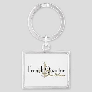French Quarter NO Landscape Keychain