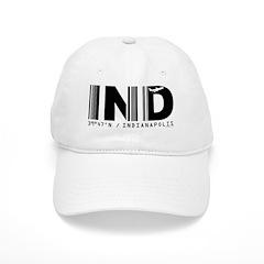Indianapolis Airport Code IND Indiana Baseball Cap