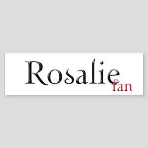 Twilight Rosalie Fan Bumper Sticker