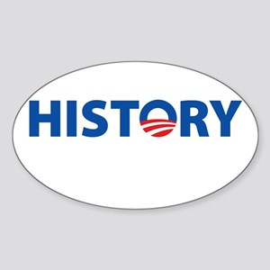 HISTORY Oval Sticker