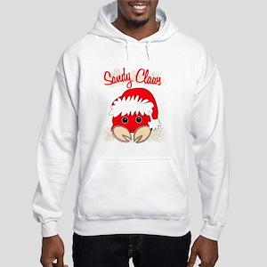 """Sandy Claws"" Hooded Sweatshirt"